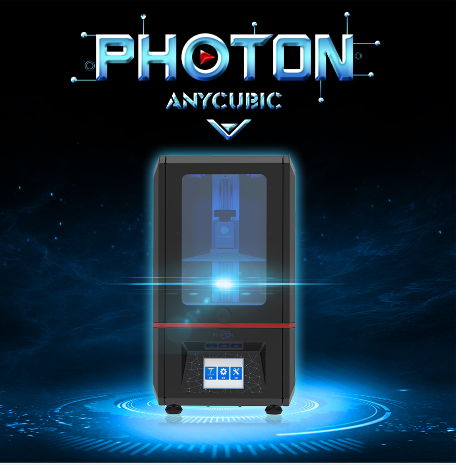 Anycubic 3D Printer Photon UV Resin SLADLP Light-Cure Impresora 3D with touch screen LCD High Precision (3)