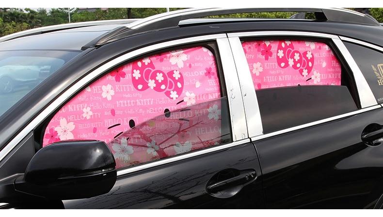 Capa protetora para janela de carro, cortina