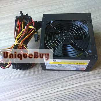 For ACBEL 500W Peak 600W Computer Power Supply with 6pin 8pin Plug GTX1080