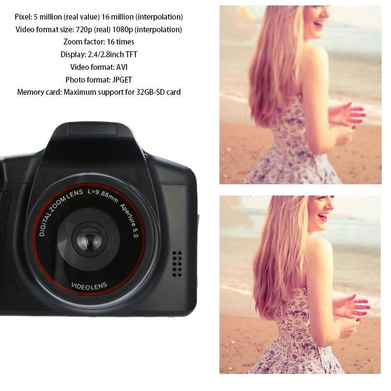 HTB1hd4wVgHqK1RjSZFPq6AwapXao HD 1080P Video Camcorder Handheld Digital Camera 16X Digital Zoom de video camcorders professional