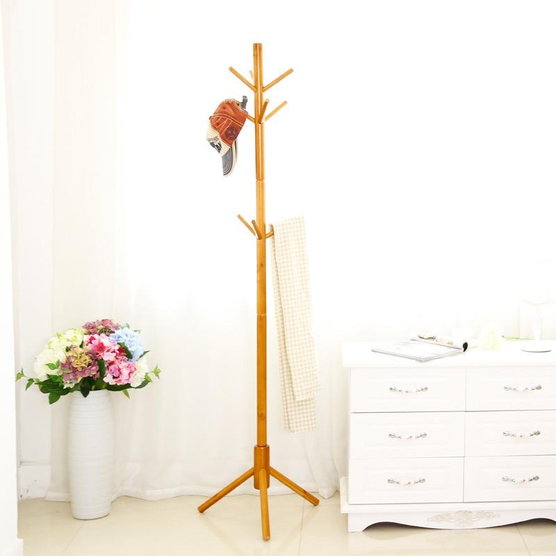 Hook Branch Solid Wooden Coat Rack Wall Hat shelf Scarves Rack Clothes Shelf Clothes Hanger цена