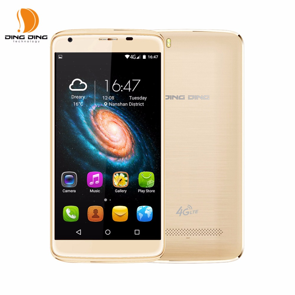 DINGDING Heat8 5.5 pulgadas Quad Core 4G Teléfono Móvil 1280*720 2 GB RAM 16 GB
