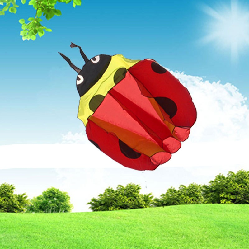 140Cm-Ladybug-Single-Line-Stunt-Software-Power-Kite-Inflatable-And-Easy-To-Fly-TD0082 (4)