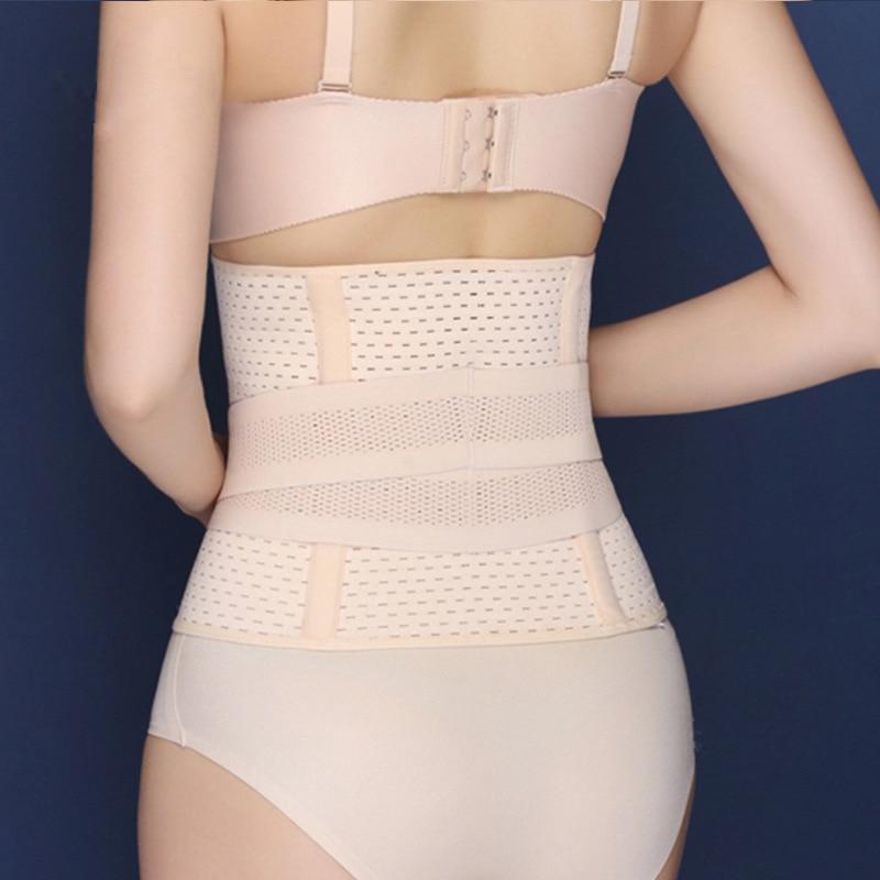 Drawing Abdomen Belt Waist Belt Body Shaping Postpartum Girdle Belt Breathable Body Shaper Fat Burning Cummerbund Control Corset