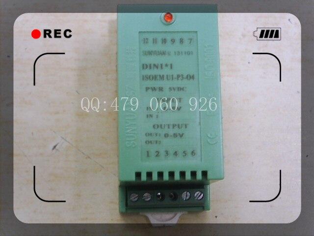 [ZOB] ISOEM U1-P3-O4 Isolation Amplifier