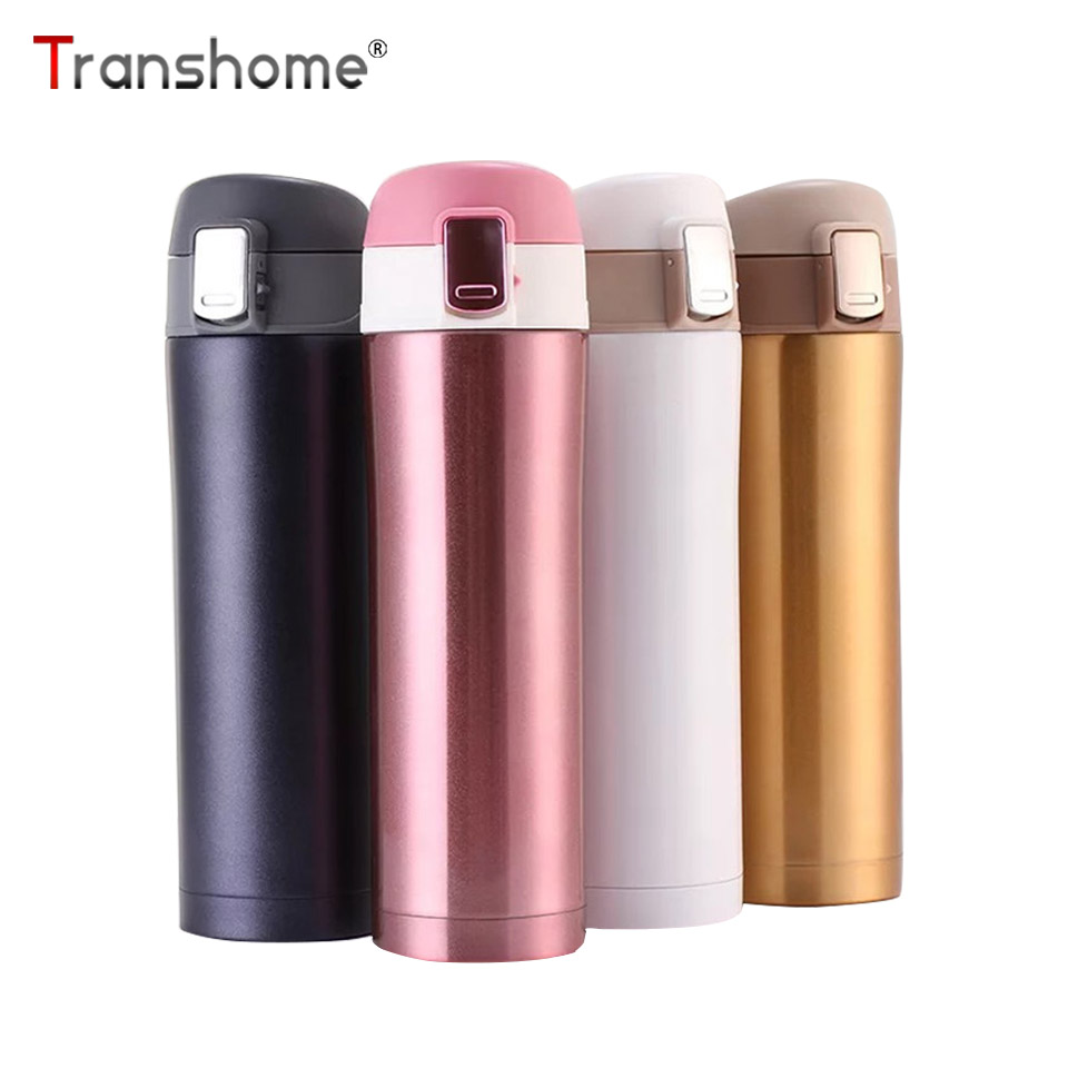 Transhome Portable Thermos Bottle Stainless Steel Vacuum Flasks Thermos Mug Coffee Cup Vacuum Bottle Thermos Cup Coffee Mug