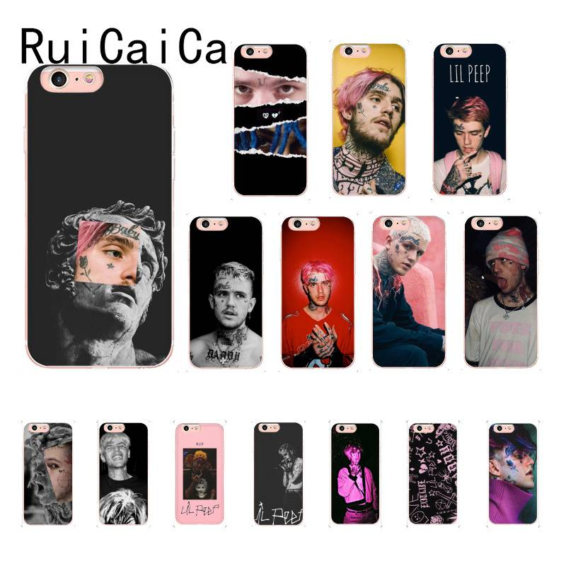 RuiCaiCa <font><b>Lil</b></font> <font><b>Peep</b></font> Popular Aesthetic funny art fashion PhoneCover for iPhone8 7 6 6S Plus X XSMAX 5 5S SE XR 10 11 11pro 11promax image