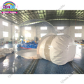 4m diameter+2m entrance giant inflatable transparent bubble tent with free CE/UL blower