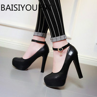 White Female Single Shoes Women S Shoes High Heels Nightclubs Thin Platform Night Shallow Mouth A
