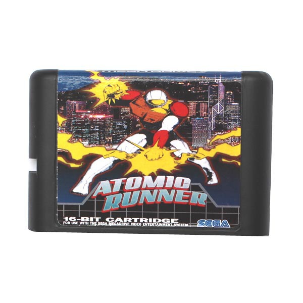 Atomic Runner - 16 bit MD Games Cartridge For MegaDrive Genesis console