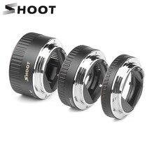 Съемка красный металл ttl Автофокус Макро Удлинитель кольцо для Canon 600D 550D 200D 800D EOS EF EF-S 6D для Canon камера аксессуар