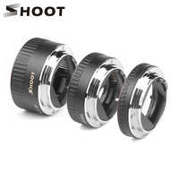 Красно-металлическое Удлинительное Кольцо SHOOT TTL для Canon 600D 550D 200D 800D EOS EF EF-S 6D, аксессуары для камеры Canon
