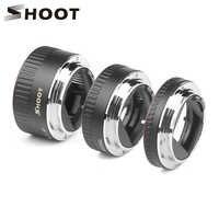 Anillo de tubo de extensión Macro de enfoque automático TTL de Metal rojo para Canon 600d 500d 80d EOS EF EF-S 60D para canon accesorio de cámara