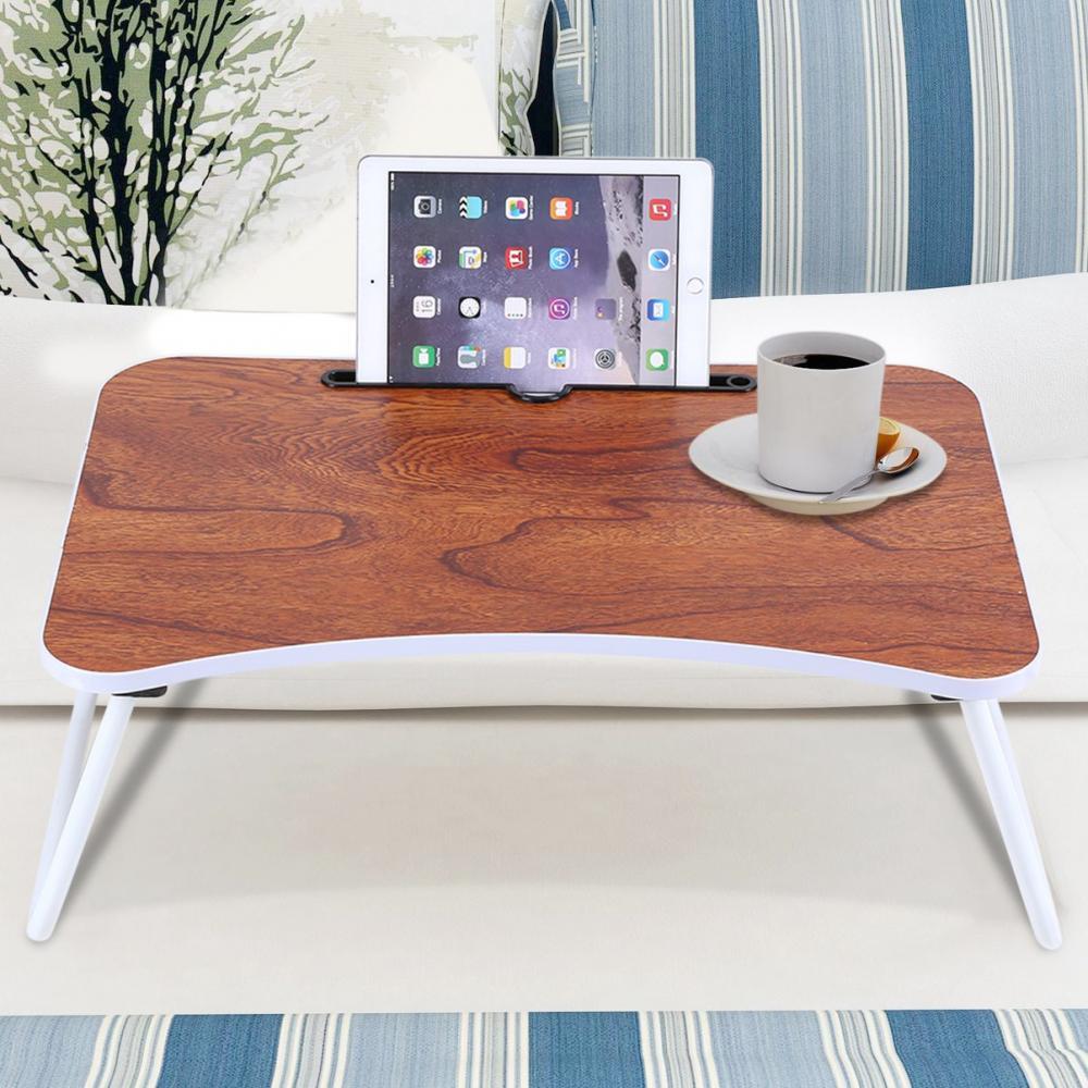 Portable Folding Bamboo Laptop Desk