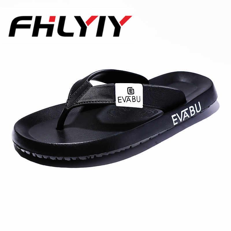 d2b445f8e829 Men Lightweight Flip Flops Summer Breathable Flat Sandals Outdoor Beach  Home Floor Casual Shoes Soft Slippers