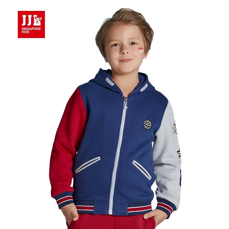 Trendy Boys Hooded Jackets Kids Outdoor Coats Boys Baseball Coats Children Winter Coats 2016 ...