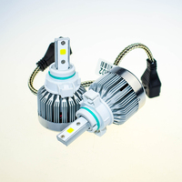 1 Lot 3000LM LED Fog Lights Bulbs H1 Imported COB 12V 30W Without Fan Head Lamp