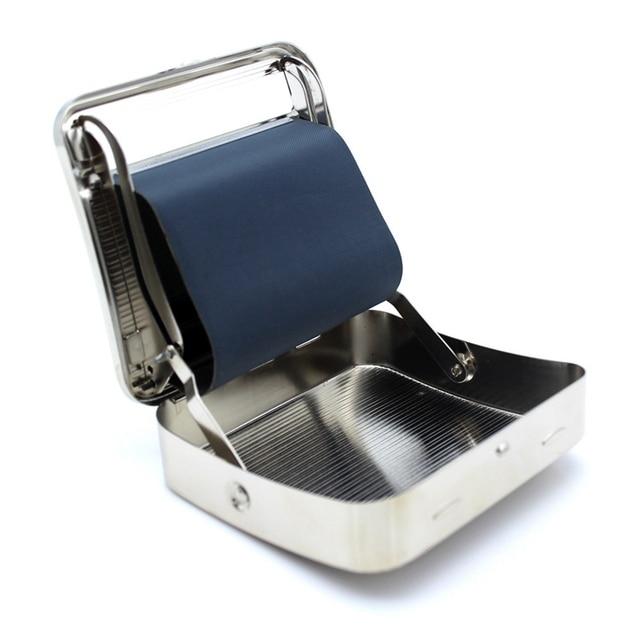 Máquina enrolladora de Metal para tabaco Roller, fabricante de cigarrillos para papel, rodillo para articulaciones, tamaño 70mm, dispositivo rotativo de cigarrillos