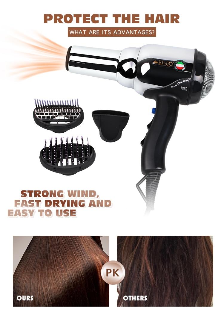 de beleza profissional secador de cabelo volumizer