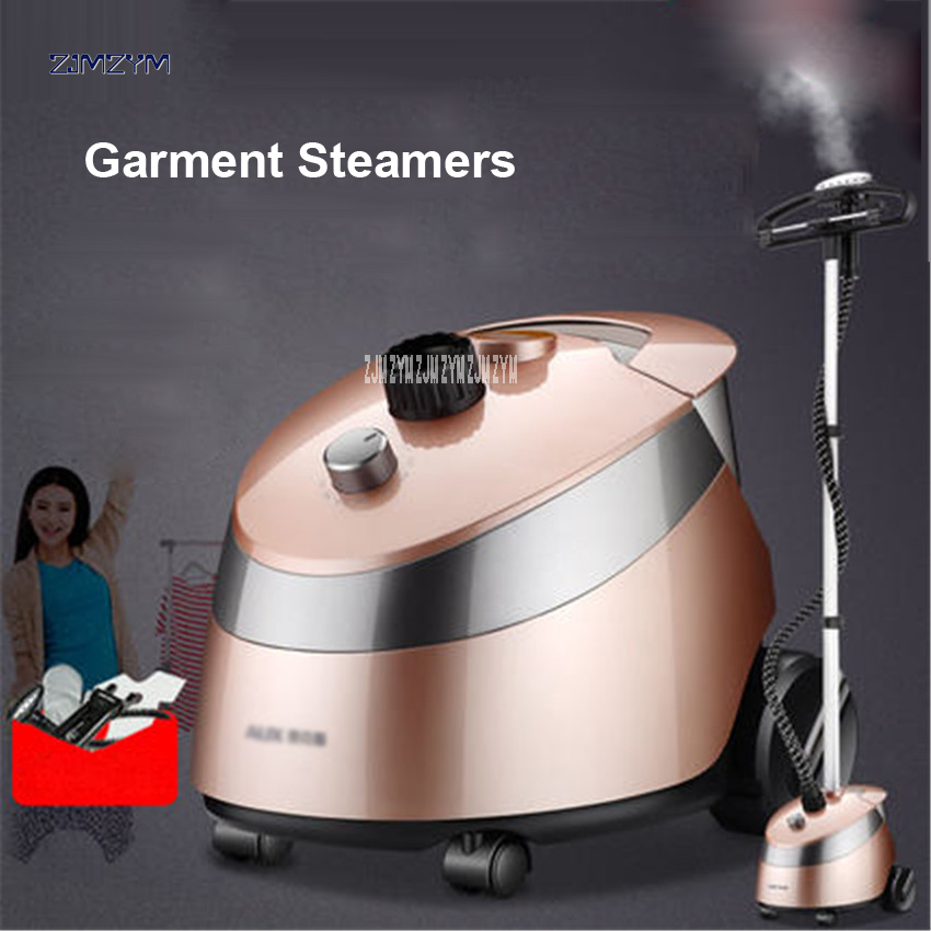 10 Gear Adjustable Garment Steamer 2000W Hanging Vertical Steam Iron Brush Home Handheld Garment Steamer Machine clothes GA298 10 gear adjustable garment steamer 2000w hanging vertical steam iron brush home handheld garment steamer machine clothes ga298
