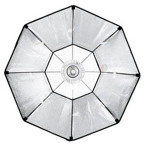 """Image 4 - Софтбокс Godox 140 см 55 """", восьмиугольник, Вспышка Speedlite, студийный светильник для фотографии, софтбокс с креплением Bowens для DE300 DE400 SK300 SK400 DP600"""