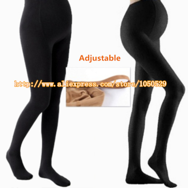 Autumn spring 320D pregnancy clothes Adjustable High Elastic maternity leggings pregnant  pants for women legging M164