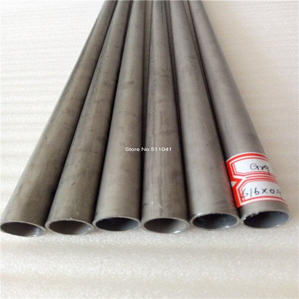 Gr9 titanium tube ti tubes pour vélo fabrication 14 pièces et 4 pièces de gr9 titanium pédalier coquilles, livraison gratuite