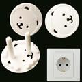 Norma europea 5 unids Lindo Oso Plug Socket Seguridad Del Bebé Niños Protección Enchufe de Seguridad Cubierta Del Enchufe Toma de corriente YL114