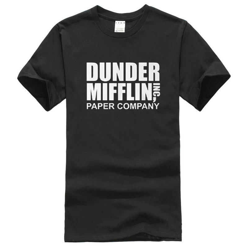 Company t shirt design short the office tv show dunder for T shirt for company