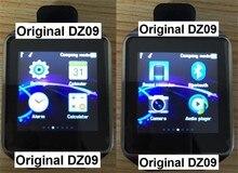 Smart watch dz09 reloj reloj celular apoyo tf tarjeta gsm sim llamada bluetooth inteligente reloj bluetooth estándar para el teléfono inteligente