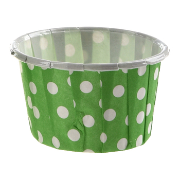 100 X Cupcake Wrapper Paper Cake Case Baking Cups Liner Muffin green Cake Molds
