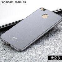 MSVII Brand For Xiaomi Redmi 4x Case Matte Hard Coque Back Cover Slim Fashion Phone Housing