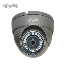 Kingkonghome Metal 1080P 720P 960P 48V POE IP Camera IP67 Waterproof Outdoor IR Night Vision Surveillance Dome Security Cameras