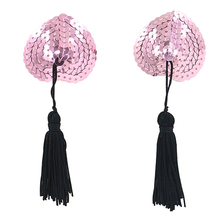 Hot New Sexy Sex Product Toys Women Lingerie Sequin Tassel Breast Bra Nipple Cover Pasties Stickers