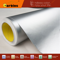 Matte Chrome Ice Vinyl Car Body Wraps Stickers Carbins Film High Quality Good Price