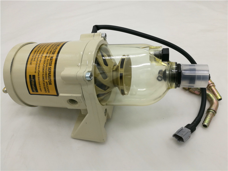 цена 500FG Fuel water separator filter with heater diesel engine truck 2010PM,FREE SHIPPING