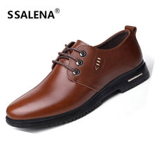 Men Business Oxfords Dress Shoes Male Pointed Toe Italian Leather Formal Shoes Wedding Business Shoes Drop Shipping AA10175