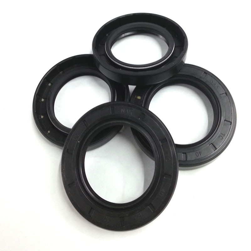 Agriculture Transport Great Wear Resistance And Sealing Effect for General Machinery WSI 34x50x7mm R23//TC Double Lip Nitrile Rotary Shaft Oil Seal with Garter Spring Mining Motorcycles Pumps