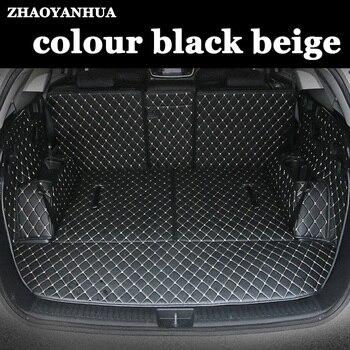 ZHAOYANHUA пользовательские подходящие автомобильные коврики для багажника Ford Edge Escape Kuga Mondeo Ecosport Explorer Focus Fiesta автомобильный Стайлинг ковер лайн...