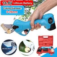 Новый 16,8 V литий ионный аккумулятор перезаряжаемый беспроводной электрический садовые ножницы дерево садовый инструмент ветви секатор инс