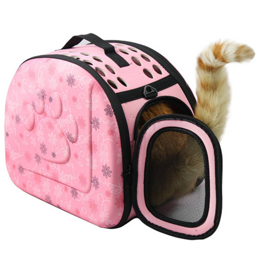 Portable Fiber Material Small Animal Carries For Pet Dogs Cats Traveling Outdoor Hand Shoulder Holding Pet Product