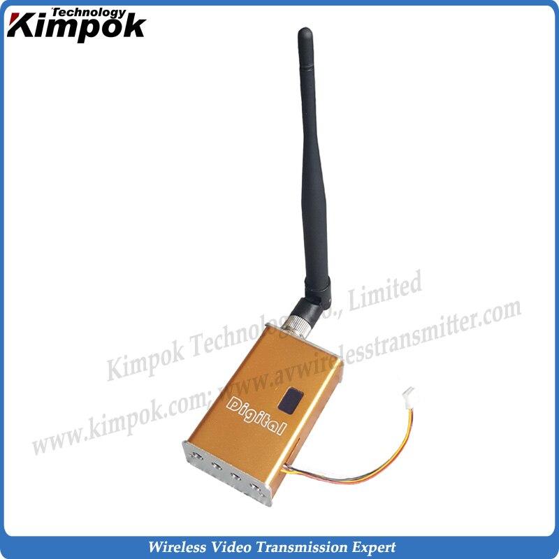 100 км Лос FPV/БПЛА Беспроводной передатчик видео 1,2 ГГц, 7 Вт мини видео передатчик и приемник для Long Range Беспроводной Камера