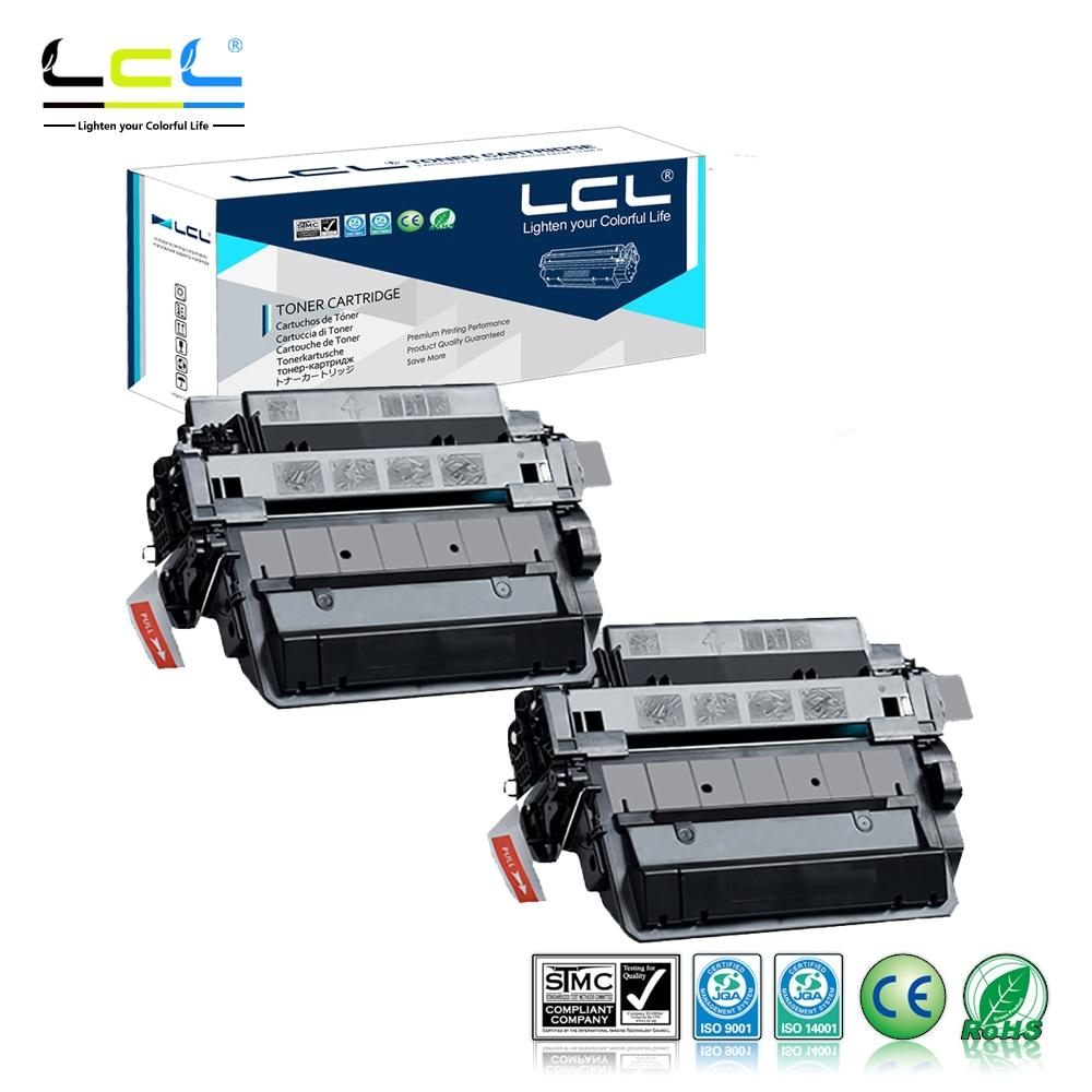 LCL 55A 55X CE255A CE255X 12500 Pages (2-Pack Black) Toner Cartridge Compatible for HP Laserjet Enterprise P3015/P3015d/P3015dn lcl ce255x 55x ce 255 x ce255 255x 3 pack laser toner cartridge compatible for hp laserjet enterprise p3015 p3015d p3015dn