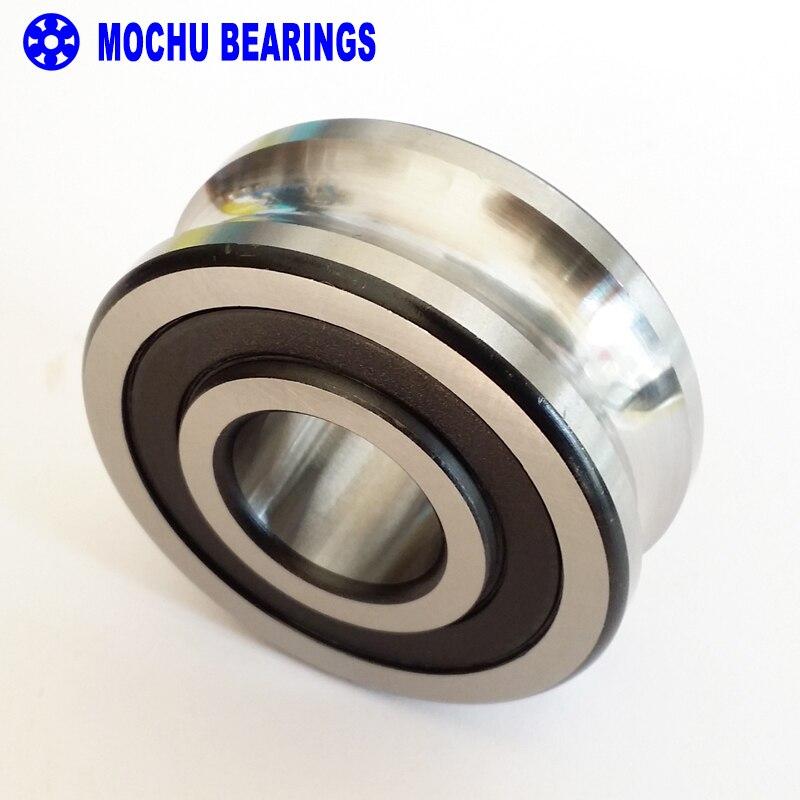 1PCS LFR5301-10NPP LFR 5301-10 NPP Track rollers double row angular contact ball bearings Gothic arch raceway groove 1pcs 71822 71822cd p4 7822 110x140x16 mochu thin walled miniature angular contact bearings speed spindle bearings cnc abec 7