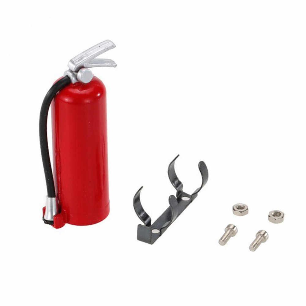 1:10 Scale RC Crawler Accessory Fire Extinguisher For Axial SCX10 TRX4 D90 Simulation Funny Gadgets toys for children RC Parts