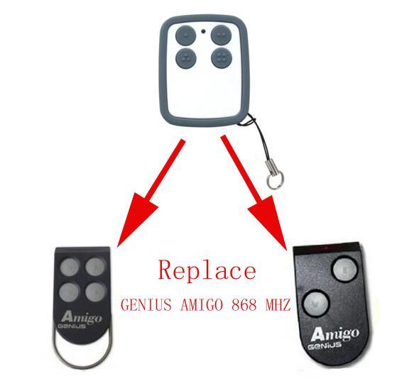 GENIUS AMIGO compatible remote 868MHZ free shipping c30 genius комбинированный станок