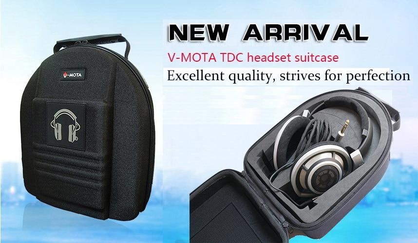 Large Headphone Case Bag for AKG K240 K545 K550 K712 K612 K601 K551 K141 PRO MS
