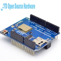 1PCS CC3000 WiFi Shield for R3 With SD Card Supports for arduino MEGA2560