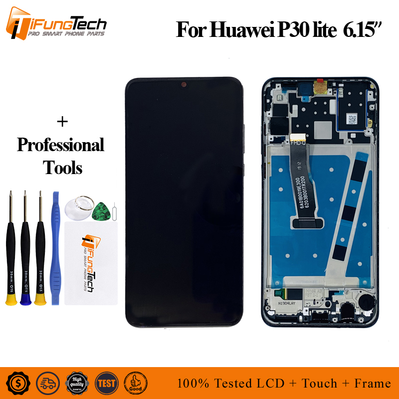 6 15 1080x2312 For Huawei P30 Lite LCD Display Touch Screen Digitizer Assembly Replacement Parts For