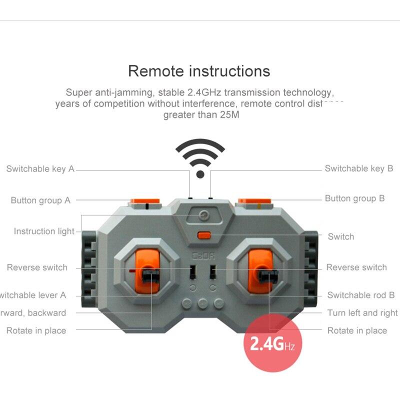 606 710 piezas bloques de construcción juguetes estilo Control remoto RC Robot juguetes para niños y niñas padres  niño interacción-in Bloques from Juguetes y pasatiempos    3